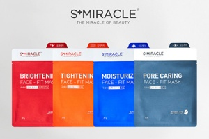 Новые маски S+miracle Face-Fit Mask